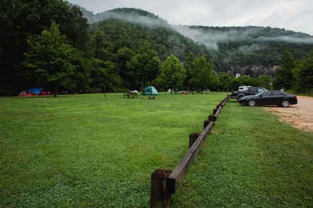 Steel Creek CampgroundCamping along the Buffalo River is a wonderful way to enjoy the park.