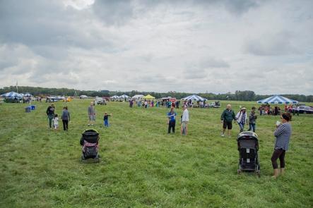 2015 Aero CarnivalVisitors walk and enjoy exhibits during the 2015 Aero Carnival event