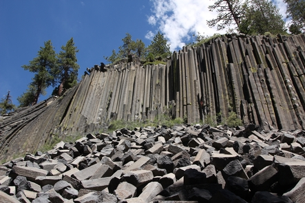 Devils  Postpile FormationDevils Postpile formation is one of many features to see at Devils Postpile National Monument.