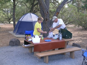 El Morro CampgroundEl Morro Campground offers peace and quiet in a tranquil setting.