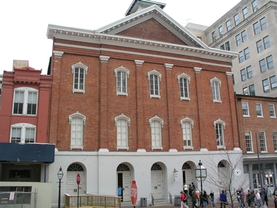 Ford's Theatre FrontWhere a nations destiny was met.