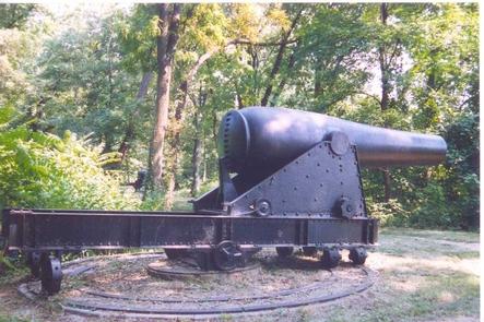 15-inch Rodman Cannon15-inch Rodman cannon