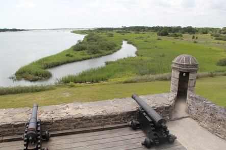 Protecting the riverwayFort Matanzas protected the southern river approach to Saint Augustine.