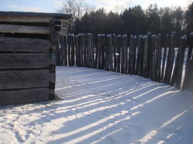 Fort Necessity in WinterFort Necessity National Battlefield is open year round.