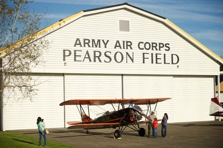 Pearson Air MuseumAt Pearson Air Museum, visitors learn about the history of Pearson Field and early aviation in the Pacific Northwest.