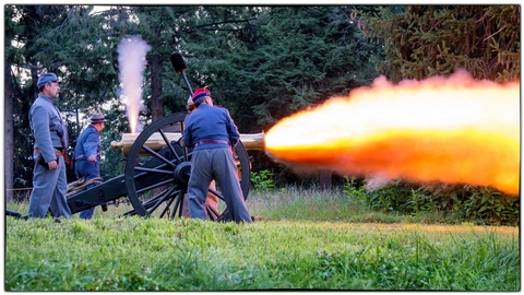 Cannon Firing DemonstrationCheck out our Special Events page for information about special tours, lectures, programs, and living history demonstrations