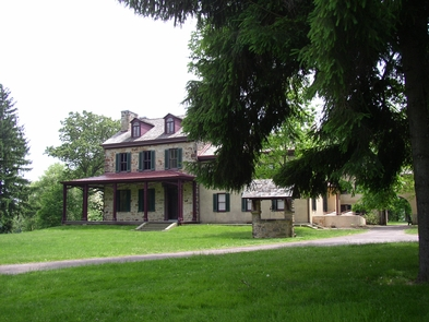 Gallatin House - Stone House and wellFriendship Hill was the country home of Albert Gallatin