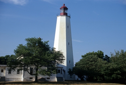 The Sandy Hook LighthouseThe Sandy Hook Lighthouse is the oldest continuously operating lighthouse in the United States.