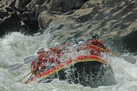Splashy Gauley RiverGauley River is a popular whitewater river in the fall