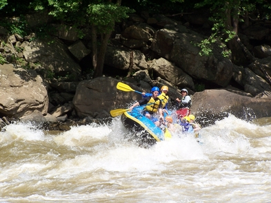 Holding On - Gauley RiverEnjoying the rapids on the Gauley River