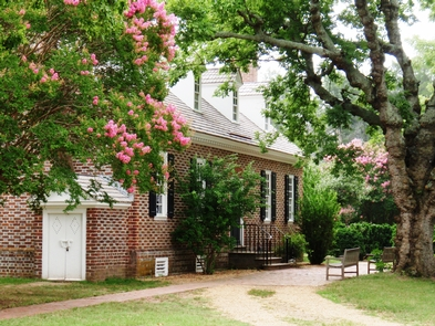 Memorial HouseThe Memorial House is framed by beautiful crepe mrytles