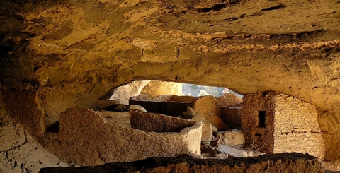 Looking Back in TimeTularosa Phase Mogollon people made these caves their home in the late 1200's.