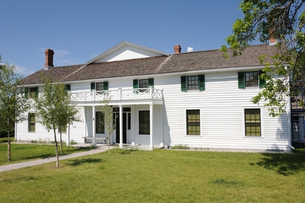 The Ranch HouseThe front portion of the ranch house was originally built by Canadian fur trader Johnny Grant in 1862.