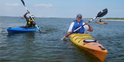 Kayaking at Gulf Islands National SeashoreExperience the park from the water and see what makes Gulf Islands National Seashore so special.
