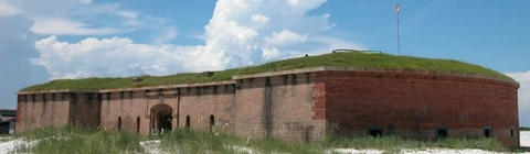 Fort MassachusettsFort Massachusetts is one of the four forts built in 1800s preserved by Gulf Islands National Seashore.