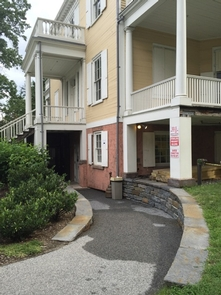 Hamilton Grange National Memorial, Entrance