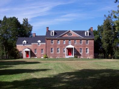Harmony Hall MansionEast elevation of Harmony Hall Mansion