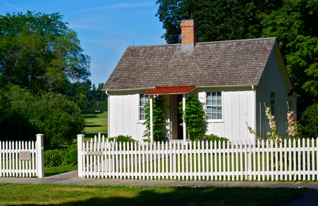 """Herbert Hoover Birthplace CottageHerbert Hoover called his humble birthplace """"physical proof of the unbounded opportunity of American life."""""""
