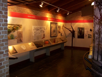 Inside MuseumArtifacts take you back over 200 years to explore American Indian life and the Battle of Horseshoe Bend