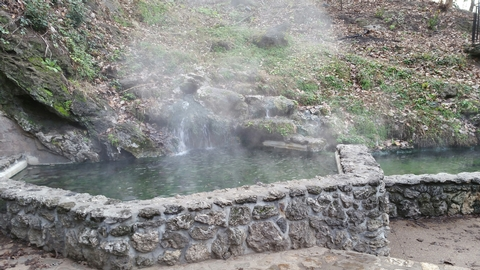 Thermal Water SpringsPools of Thermal Water at Hot Springs National Park