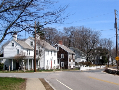Slatersville, RISlatersville village, with John Slater's house in the foreground.