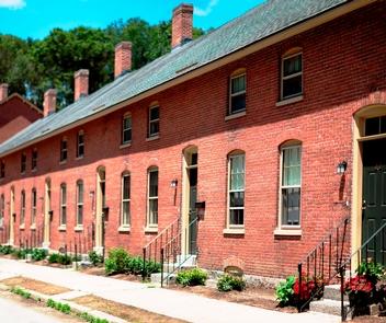 Ashton HousingMill worker housing in Ashton village