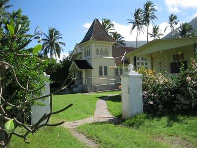 Kana'ana Hou ChurchReligion was a prominent part of patients' lives at Kalaupapa. Protestant, Catholic, and Mormon churches were established at both Kalawao and Kalaupapa settlements.