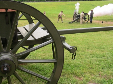 Casson with Cannon FireCasson with Cannon Fire Demonstration.