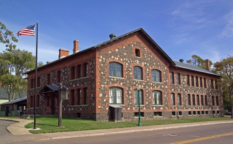 Keweenaw NHP HeadquartersPark Headquarters is housed in the former Calumet & Hecla Mining Company General Office building.