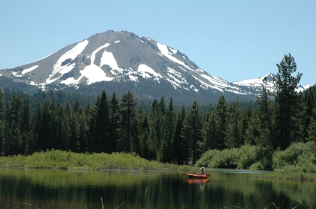 A Fisherman's ParadiseManzanita Lake offers spectacular catch-and-release fishing in the shadow of volcanoes.