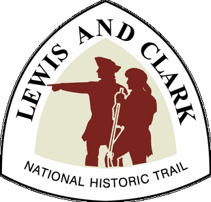 L&C TriangleLewis and Clark National Historic Trail Logo.