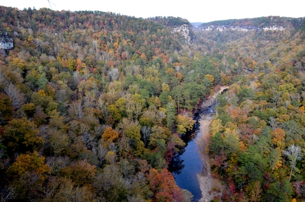 Little River Canyon in the Fall