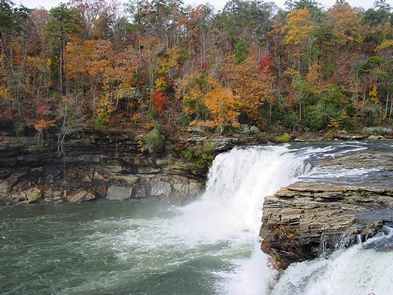 Little River Falls in the Fall