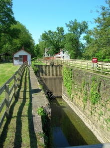 Delaware Canal at Raubsville, Locks 22 & 23Locks were used to move boats overland via canals
