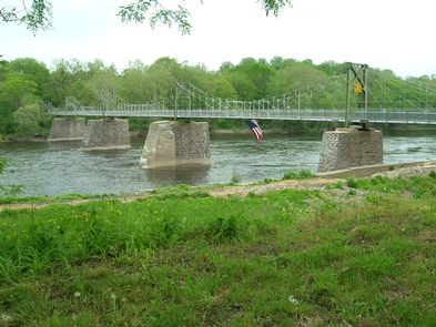 Raven Rock BridgeThe Bridge from Lumberville, PA to Bulls Island Recreation Area, NJ