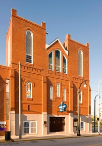 Historic Ebenezer Baptist ChurchThe spiritual home of the King Family.