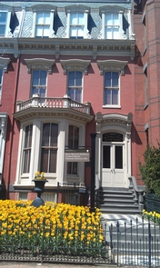 Mary McLeod Bethune Council House National Historic SiteBethune Council House in Spring time full bloom!