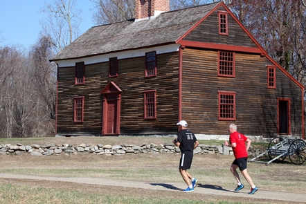 Captain William Smith HouseThe Smith House is a witness to the days events of April 19, 1775.