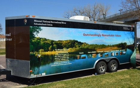 Park trailerEducational trailer with painted pictures