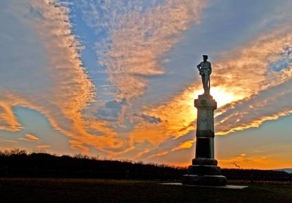 "14 New Jersey Regiment MonumentThe monument recognizes the sacrifices of the ""Monocacy Regiment."""