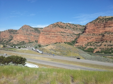 Echo Canyon, UtahEcho Canyon on the way from Wyoming to Salt Lake City, Utah is both beautiful and historic.