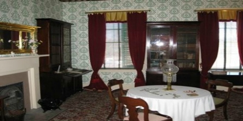 Inside the William Johnson HouseVisitors to the William Johnson House can see many original furnishings.