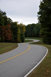 Natchez Trace Parkway in Early FallThe Natchez Trace Parkway commemorates a historic travel route that helped build the young United States. The Parkway 444 miles, with plenty of stops to allow you to explore some of the history or enjoy the scenery along the way.