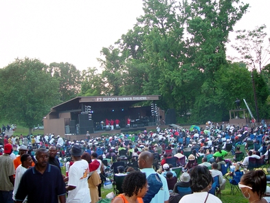 Fort DupontSummer Theater is an annual event at Fort Dupont Park.