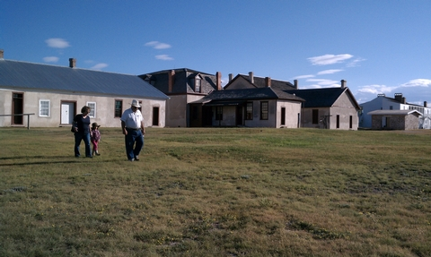Fort Laramie, WyomingFort Laramie National Historic Site features a replica fort with exhibits, located in eastern Wyoming.