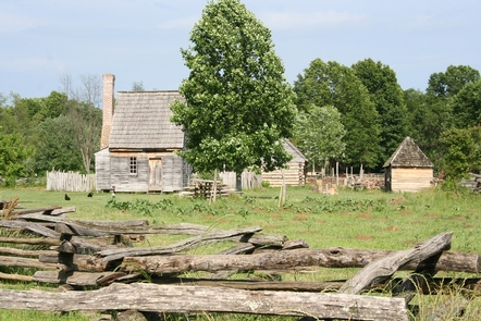 National Colonial FarmBuilding at National Colonial Farm at Piscataway Park