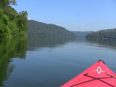 Two RiversPaddling down the river is a popular activity on the Potomac Heritage National Scenic Trail.