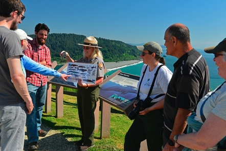 Ranger Program at Klamath River OverlookCoastal overlooks provide amazing places to whale watch.. and more.