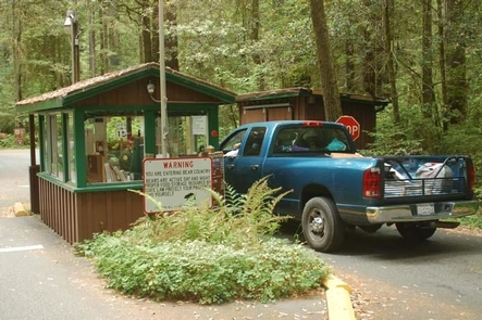 Jedediah Smith  Campground Entrance Kiosk