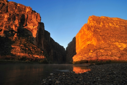 Santa Elena CanyonSanta Elena Canyon on the Rio Grande River.
